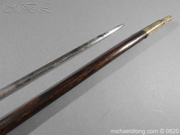 michaeldlong.com 8579 600x450 Victorian Gentlemens Sword Stick 17c Blade