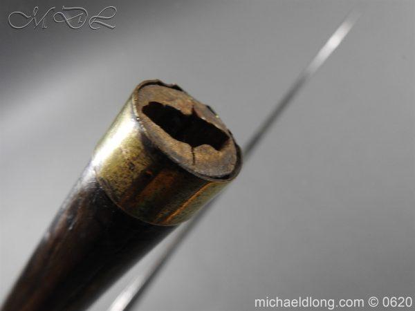 michaeldlong.com 8581 600x450 Victorian Gentlemens Sword Stick 17c Blade