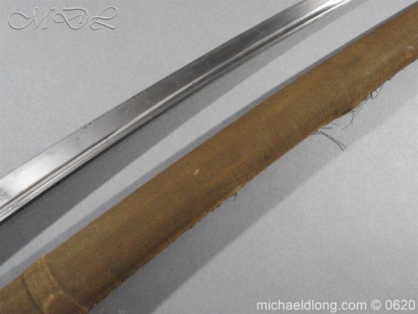 michaeldlong.com 8739 600x450 Japanese Officer's WW2 Sword Blade in Shirasaya