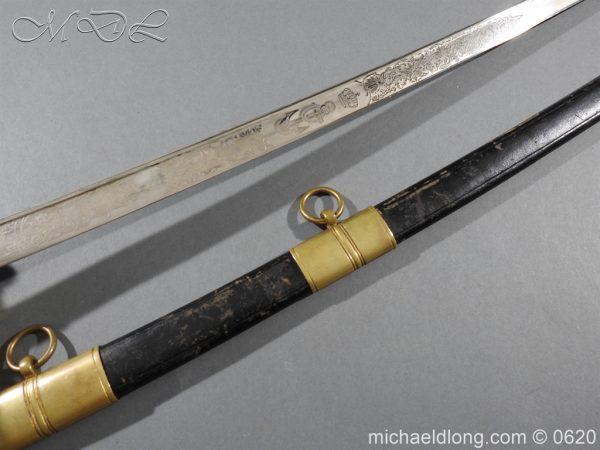 michaeldlong.com 8771 600x450 Dutch Naval Officer's Sword