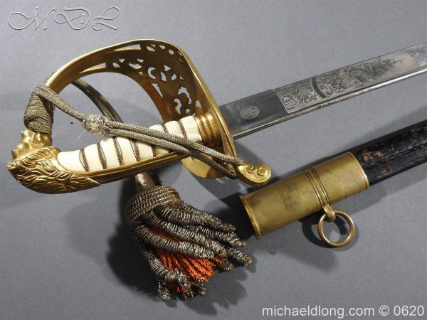 michaeldlong.com 8775 600x450 Dutch Naval Officer's Sword
