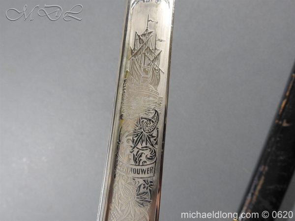 michaeldlong.com 8782 600x450 Dutch Naval Officer's Sword