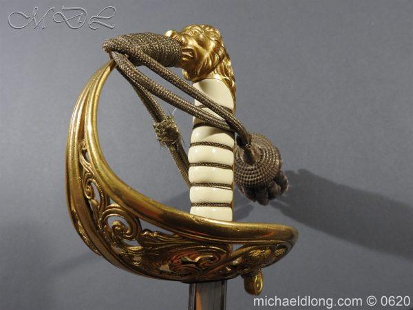 michaeldlong.com 8798 600x450 Dutch Naval Officer's Sword