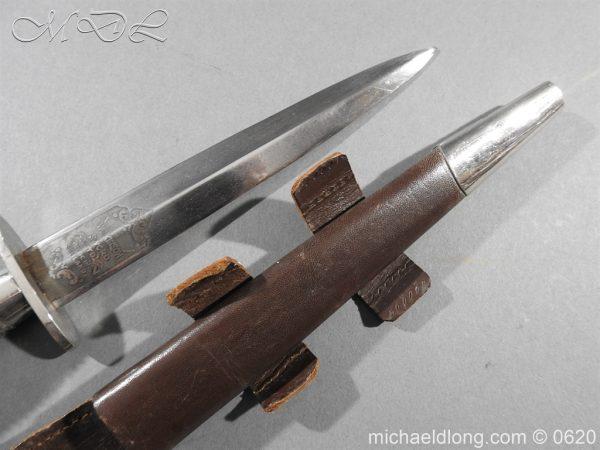 michaeldlong.com 8845 600x450 Presentation Fairbairn Sykes Knife by Wilkinson Sword