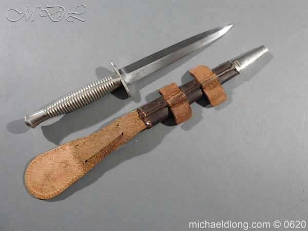 michaeldlong.com 8846 600x450 Presentation Fairbairn Sykes Knife by Wilkinson Sword