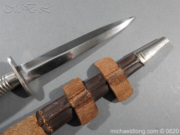 michaeldlong.com 8848 600x450 Presentation Fairbairn Sykes Knife by Wilkinson Sword