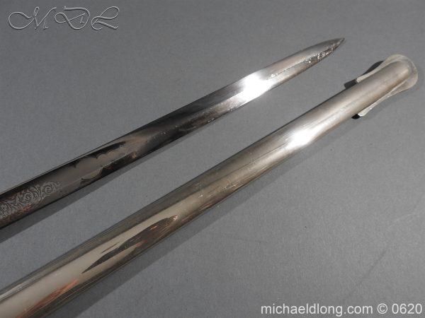 michaeldlong.com 8860 600x450 Sandhurst Anson Memorial Prize Sword by Wilkinson Sword