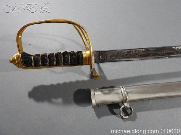 michaeldlong.com 8862 600x450 Sandhurst Anson Memorial Prize Sword by Wilkinson Sword