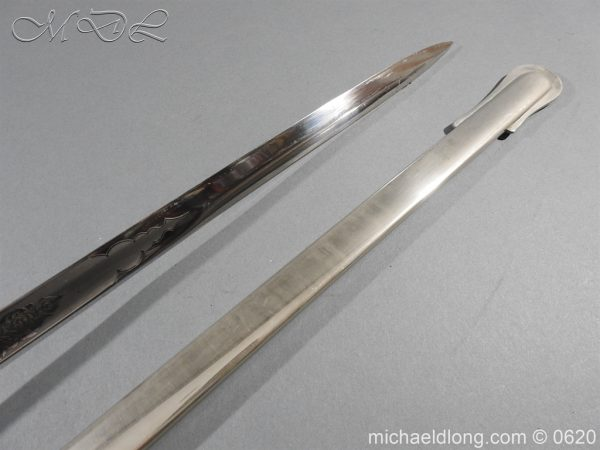 michaeldlong.com 8864 600x450 Sandhurst Anson Memorial Prize Sword by Wilkinson Sword