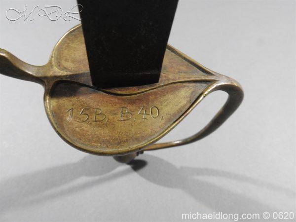 michaeldlong.com 8974 600x450 Danish 1841 Military Hanger
