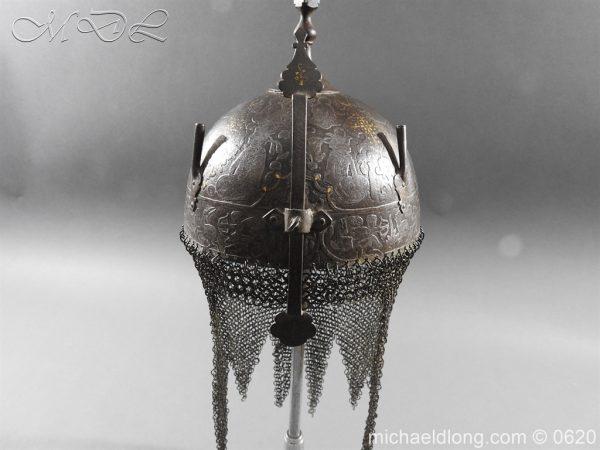 michaeldlong.com 9110 600x450 Indo Persian Kula Khud Helmet 19c