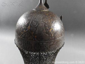 michaeldlong.com 9115 300x225 Indo Persian Kula Khud Helmet 19c