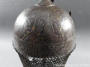 michaeldlong.com 9116 300x225 Indo Persian Kula Khud Helmet 19c