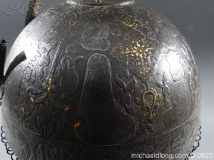 michaeldlong.com 9119 300x225 Indo Persian Kula Khud Helmet 19c