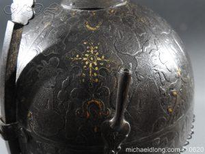michaeldlong.com 9122 300x225 Indo Persian Kula Khud Helmet 19c