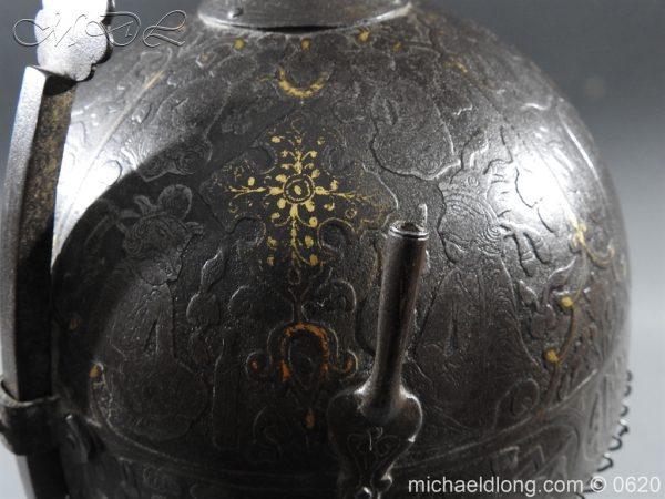 michaeldlong.com 9122 600x450 Indo Persian Kula Khud Helmet 19c
