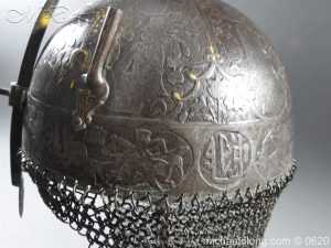 michaeldlong.com 9124 300x225 Indo Persian Kula Khud Helmet 19c