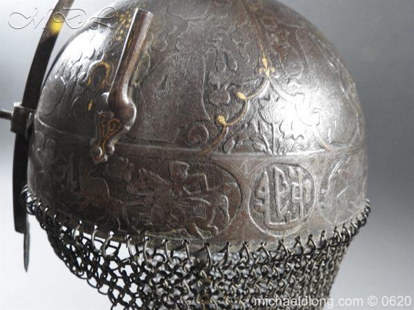 michaeldlong.com 9124 600x450 Indo Persian Kula Khud Helmet 19c