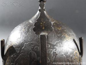 michaeldlong.com 9126 300x225 Indo Persian Kula Khud Helmet 19c