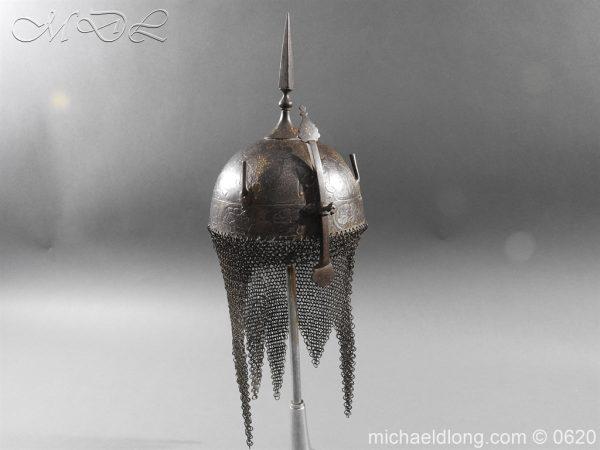 michaeldlong.com 9128 600x450 Indo Persian Kula Khud Helmet 19c