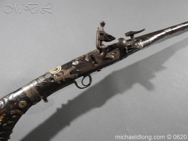 michaeldlong.com 9153 600x450 Morroccan Mukahla Rifle 19th century
