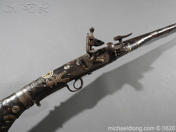 michaeldlong.com 9154 600x450 Morroccan Mukahla Rifle 19th century