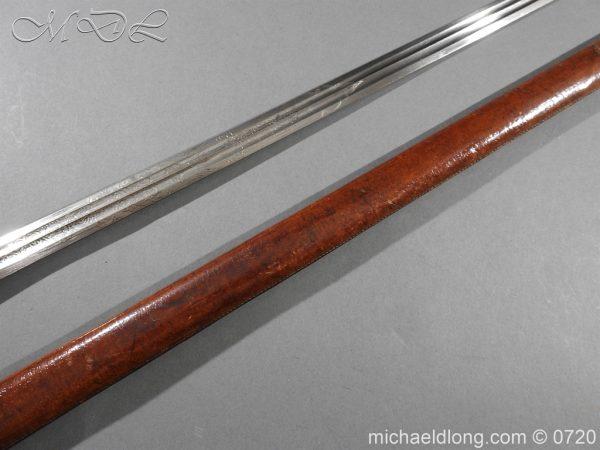 michaeldlong.com 10026 600x450 Scottish Cross Hilt Sword London Scottish Rifle Volunteers
