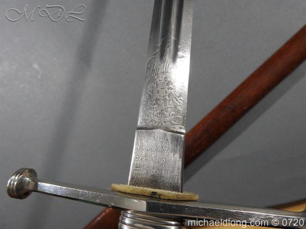 michaeldlong.com 10031 600x450 Scottish Cross Hilt Sword London Scottish Rifle Volunteers