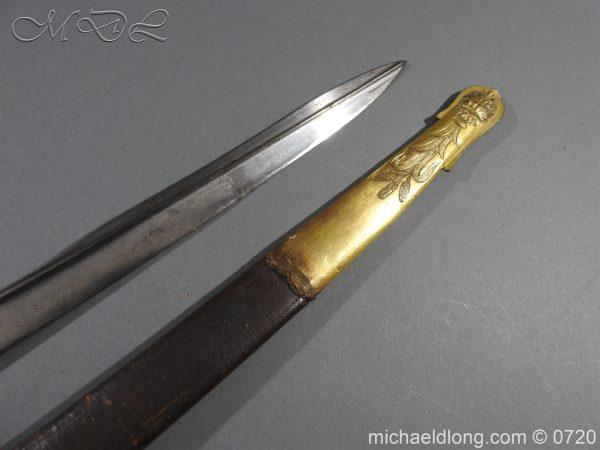 michaeldlong.com 9344 600x450 Royal Netherlands Officer's Naval Sword by Prosser