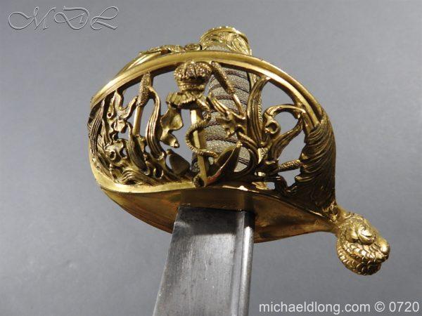 michaeldlong.com 9358 600x450 Royal Netherlands Officer's Naval Sword by Prosser