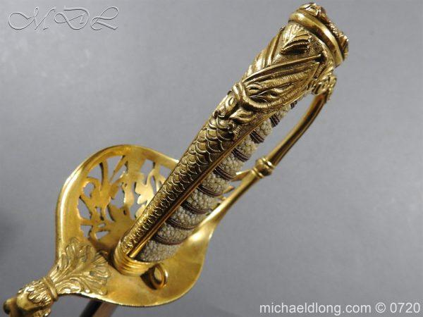 michaeldlong.com 9363 600x450 Royal Netherlands Officer's Naval Sword by Prosser