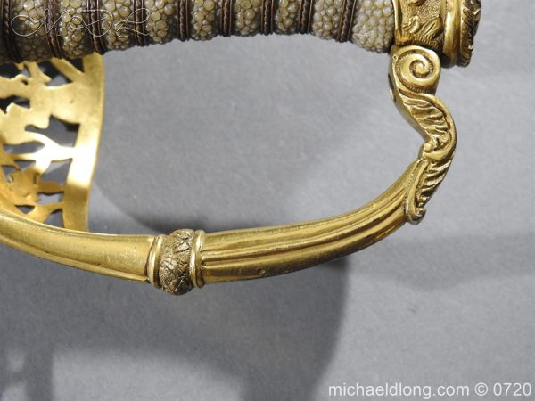 michaeldlong.com 9366 600x450 Royal Netherlands Officer's Naval Sword by Prosser