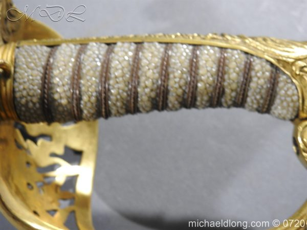 michaeldlong.com 9367 600x450 Royal Netherlands Officer's Naval Sword by Prosser