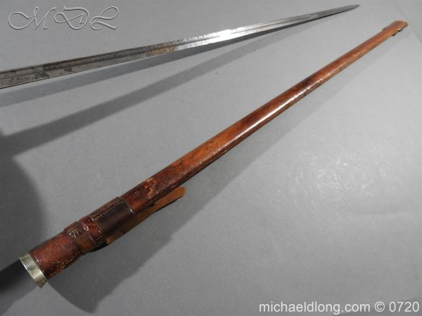 michaeldlong.com 9380 600x450 British 1912 Officer's Sword by Wilkinson