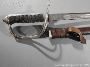 michaeldlong.com 9531 300x225 Royal Horse Artillery Presentation Sword By Wilkinson