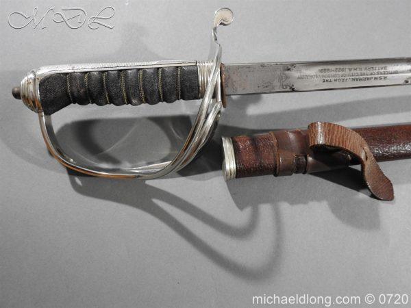 michaeldlong.com 9531 600x450 Royal Horse Artillery Presentation Sword By Wilkinson