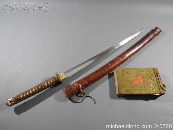 michaeldlong.com 9779 600x450 Japanese Officer's WW2 Sword & Photographs