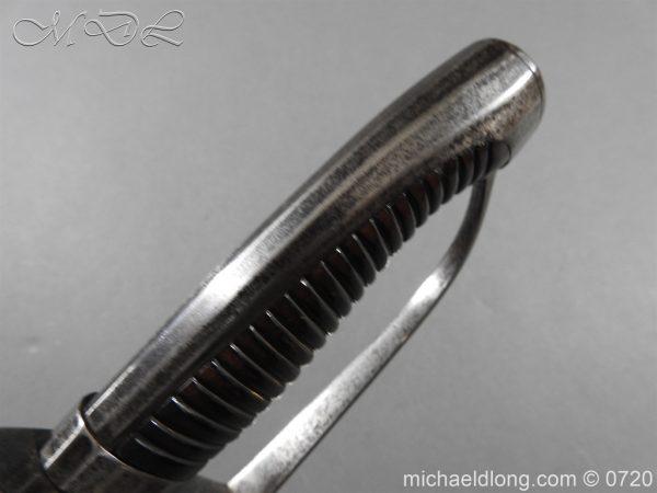 michaeldlong.com 9855 600x450 British Infantry Officer's Sword c 1790