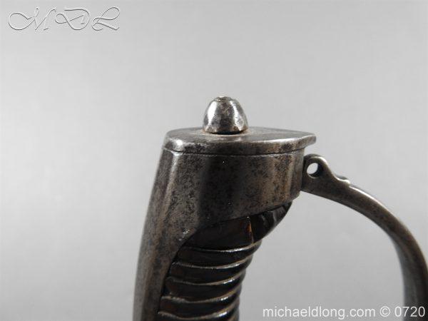 michaeldlong.com 9856 600x450 British Infantry Officer's Sword c 1790