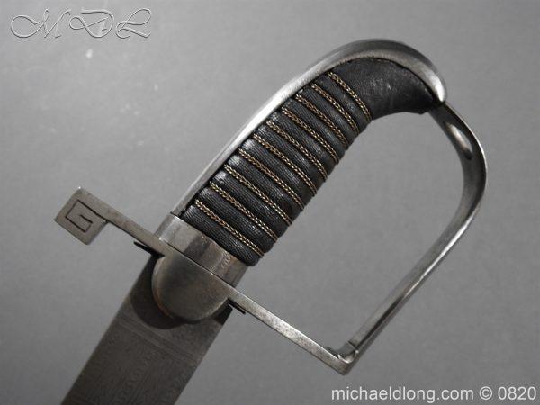 michaeldlong.com 10192 600x450 British 1796 Officer's Sword