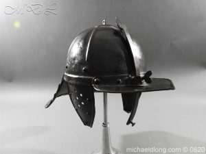 English Civil War Lobster Tailed Helmet