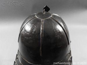 michaeldlong.com 10298 300x225 English Civil War Lobster Tailed Helmet