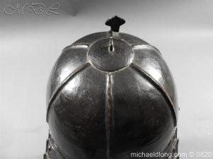 michaeldlong.com 10299 300x225 English Civil War Lobster Tailed Helmet
