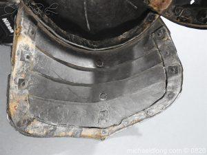 michaeldlong.com 10306 300x225 English Civil War Lobster Tailed Helmet