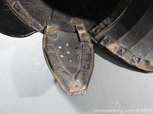 michaeldlong.com 10307 300x225 English Civil War Lobster Tailed Helmet