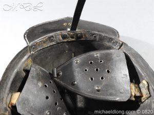 michaeldlong.com 10310 300x225 English Civil War Lobster Tailed Helmet