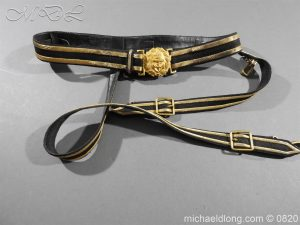 Royal Naval Officer's Full Dress Belt
