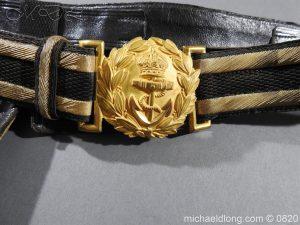 michaeldlong.com 10359 300x225 Royal Naval Officer's Full Dress Belt