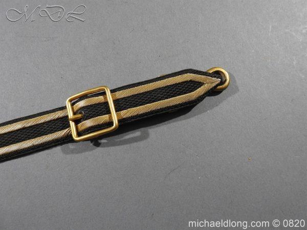 michaeldlong.com 10364 600x450 Royal Naval Officer's Full Dress Belt