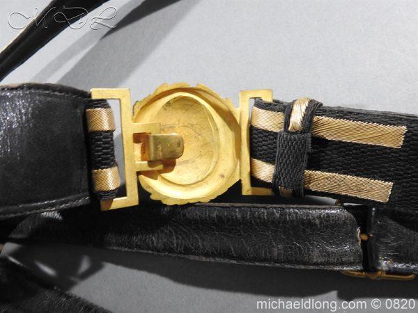 michaeldlong.com 10366 600x450 Royal Naval Officer's Full Dress Belt